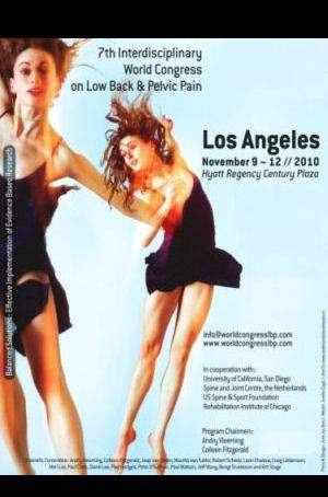 Los Angeles 2010: Welt-Rückenschmerzkongress